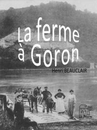 La ferme à Goron