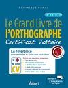 Livre numérique Le Grand Livre de l'orthographe - Certificat Voltaire