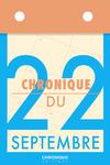 Livre numérique Chronique du 22 septembre