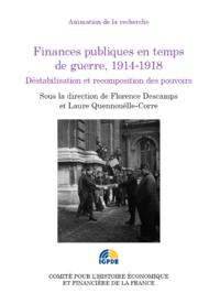Livre numérique Finances publiques en temps de guerre, 1914-1918