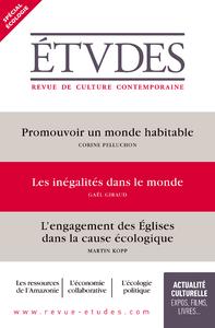 Revue Etudes : spécial écologie