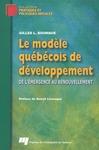 Livre numérique Le modèle québécois de développement