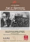 Livre numérique Juges et Apparence(s)