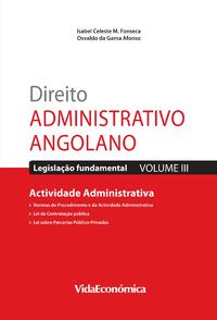 Direito Administrativo Angolano - Vol. III