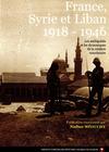 Livre numérique France, Syrie et Liban 1918-1946