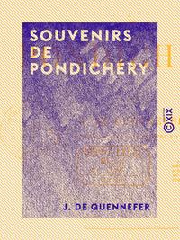 Souvenirs de Pondichéry