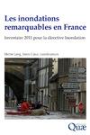 Livre numérique Les inondations remarquables en France