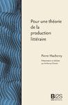 Livre numérique Pour une théorie de la production littéraire