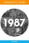 Livre numérique Chronique de l'année 1987