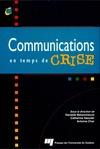 Livre numérique Communications en temps de crise