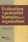 Livre numérique Évaluation du potentiel humain dans les organisations