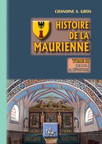 Histoire de la Maurienne (Tome 3)