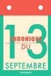 Livre numérique Chronique du 13 septembre