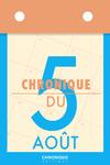 Livre numérique Chronique du 5 août