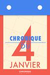 Livre numérique Chronique du 4  janvier