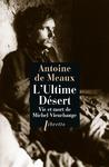 Livre numérique L'Ultime désert - Vie et mort de Michel Vieuchange