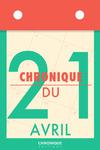 Livre numérique Chronique du 21  avril