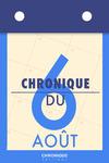 Livre numérique Chronique du 6 août