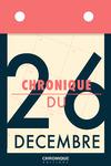 Livre numérique Chronique du 26 décembre