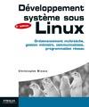 Livre numérique Développement système sous Linux