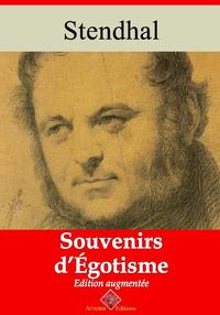 Souvenirs d'égotisme ? suivi d'annexes, Nouvelle édition 2019