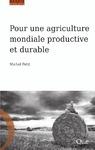 Livre numérique Pour une agriculture mondiale productive et durable