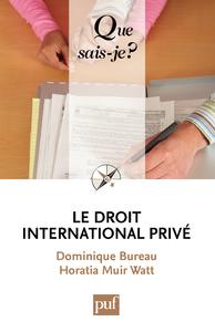 Le droit international privé, « Que sais-je ? » n° 1615