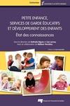 Livre numérique Petite enfance, services de garde éducatifs et développement des enfants