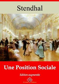 Une position sociale – suivi d'annexes