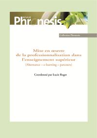 Livre numérique Mise en œuvre de la professionnalisation dans l'enseignement supérieur (Alternance – e-learning – parcours)