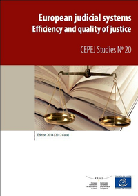 European judicial systems - Edition 2014 (2012 data) - Efficiency and quality of justice