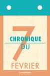 Livre numérique Chronique du 7  février