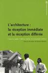 Livre numérique L'architecture: la réception immédiate et la réception différée