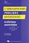 Livre numérique L'administration publique québécoise