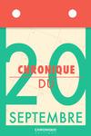 Livre numérique Chronique du 20 septembre