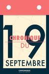 Livre numérique Chronique du 19 septembre