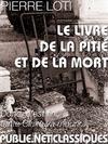 Livre numérique Le livre de la pitié et de la mort