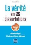 Livre numérique La vérité : thème de culture générale Prépa HEC 2014 en 25 dissertations