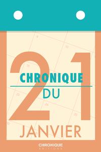 Livre numérique Chronique du 21  janvier