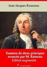 Examen de deux principes avancés par M. Rameau – suivi d'annexes