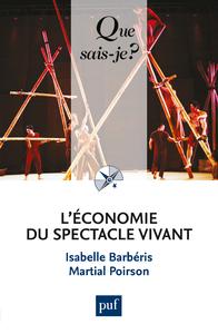 L'économie du spectacle vivant, « QUE SAIS-JE ? » N° 3972
