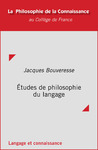 Livre numérique Études de philosophie du langage