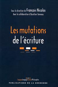 Livre numérique Les mutations de l'écriture