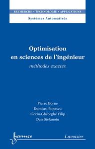 Livre numérique Optimisation en sciences de l'ingénieur