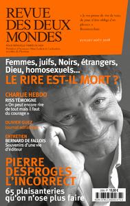 Revue des Deux Mondes juillet août 2018