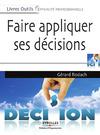 Livre numérique Faire appliquer ses décisions