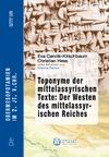Livre numérique Toponyme der mittelassyrischen Texte: Der Westen des mittelassyrischen Reiches