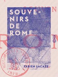Souvenirs de Rome
