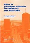 Livre numérique Villes et politiques urbaines au Canada et aux États-Unis