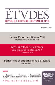 Etudes - Vers un retour de la France à la puissance militaire ?